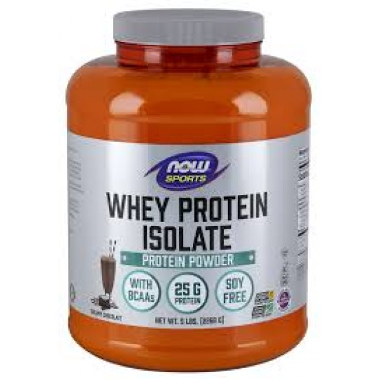 NOW Whey Protein Isolate Chocolate - 2.26kg