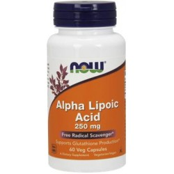 NOW Alpha Lipoic Acid 250mg - 60 Capsule vegetale